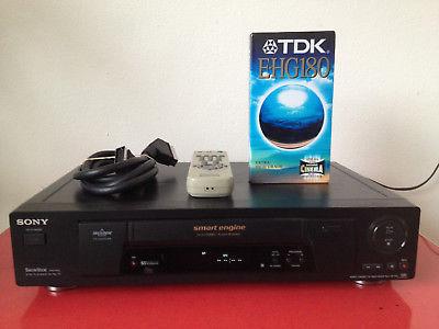 magnétoscope et VHS