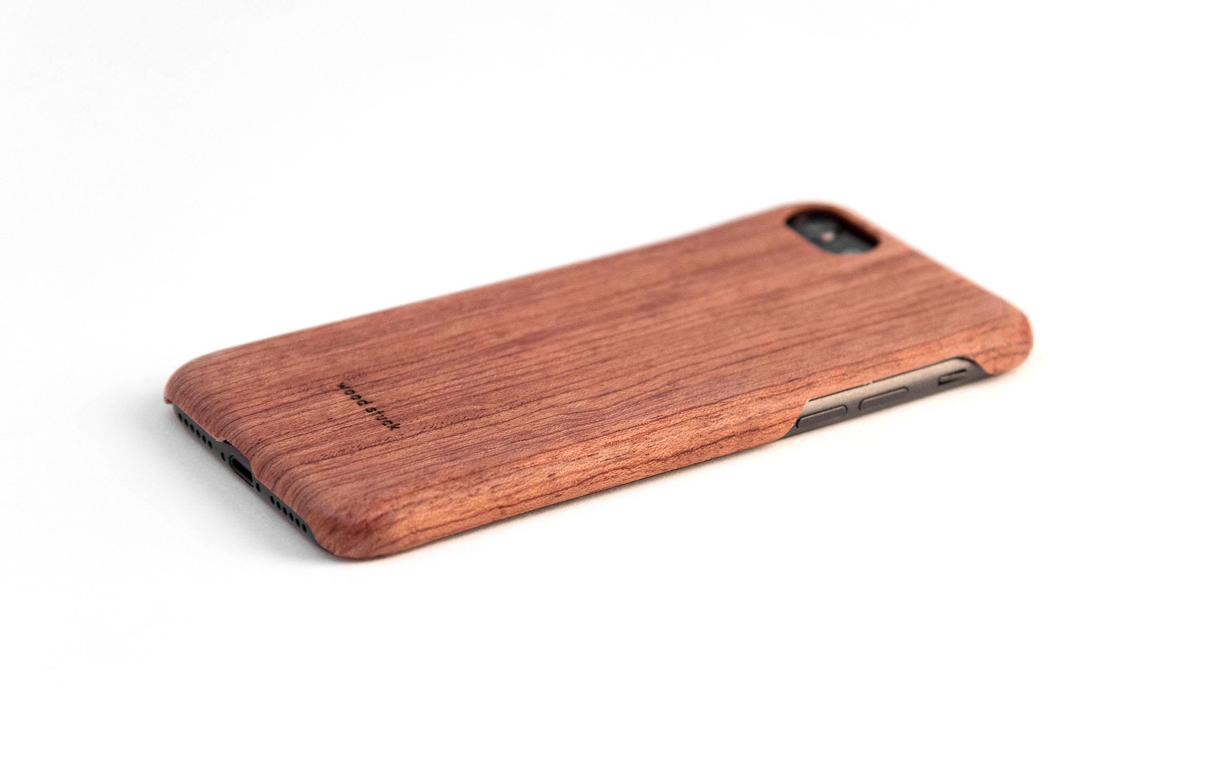 coque iPhone 8 en bois